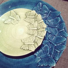Butterfly plate by Mateus