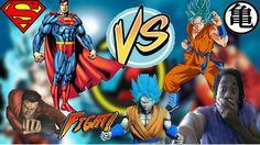 Goku Vs Superman Fan Animation Reaction