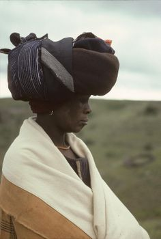 Xhosa woman, South Africa / Harold E Scheub