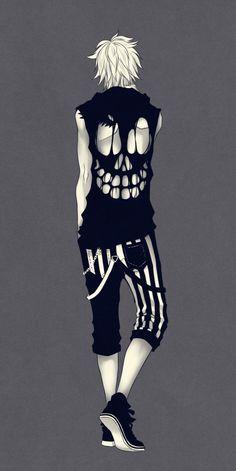 Skull shirt by Naimane.deviantart.com on @deviantART
