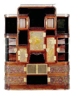 Japanesque Cabinet from Vanderbilt residence.