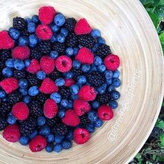 Give us all the berries! They're the perfect afternoon snack.