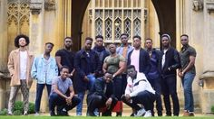 The students in the picture want to inspire young black people to apply to the top university.