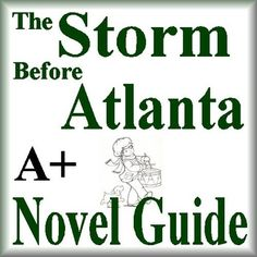 This is a 68 page Novel Guide and Assessment Pack for The Storm Before Atlanta by Karen Schwabach.  This guide has everything that you will need to teach and assess the novel. The questions in this guide go BEYOND basic understanding and hit the high rigor teachers are looking for, and other literature guides do not provide.
