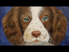 How to Paint a DOG Acrylic Painting Tutorial LIVE! #yearofthedog - YouTube