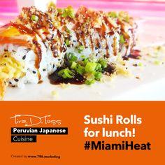 Tempura shrimp, crab, and cream cheese roll, topped with baked salmon, eel sauce, spicy mayo and tempura flakes. #TiraDtoss #Doral #MiamiFood #Lunch #Yummy #PeruvianFood #ComidaPeruana #ComidaJaponesa #JapaneseFood #Catering #Cater #Restaurant #MiamiRestaurants #Comida #Comer #Eaters #FoodPorn #Like4Like #Restaurants #Peru #Peruvian #Cuisine #PeruvianCuisine #JapaneseCuisine