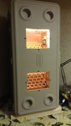 DIY Cabinet COOLER INCUBATOR.. DIY CABINET COOLER INCUBATOR How we did it and TEST RUN Ready Set GO!