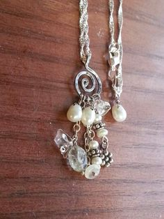 Sterling silver & pearls