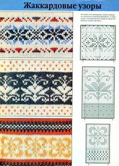 "Photo from album ""Неразобранное в verena sp"" on Yandex. Fair Isle Knitting Patterns, Knitting Charts, Knitting Stitches, Knitting Designs, Knit Patterns, Knitting Projects, Motif Fair Isle, Fair Isle Chart, Fair Isle Pattern"