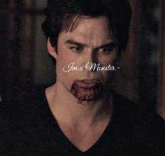 I'm a monster Elena. :(