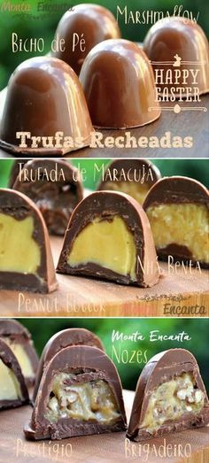 64 ideas for chocolate quente marshmallow Sweet Recipes, Cake Recipes, Dessert Recipes, Chocolate Truffles, Chocolate Recipes, Brazillian Food, Delicious Desserts, Yummy Food, Love Food