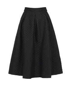 Take it for a spin: The voluminous midi skirt