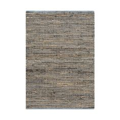 Slate gray, cobalt blue, and taupe weave together with leather accents for an oh-so-contemporary rug with plenty of simple style. Don't underestimate the neutral elements of the Neutral Ground Rug. Mak...  Find the Handwoven Blue Gray Rug, as seen in the Farmhouse Favorites Collection at http://dotandbo.com/collections/farmhouse-favorites?utm_source=pinterest&utm_medium=organic&db_sku=95022