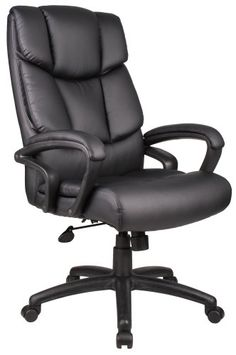 Special Offers - Boss B8701 Executive Leather Chair Black - In stock & Free Shipping. You can save more money! Check It (April 20 2016 at 10:39PM) >> http://sofaarmchairusa.net/boss-b8701-executive-leather-chair-black/