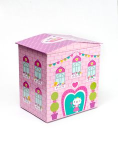 Girl Design Pink Castle, Savings Bank, Let Your Light Shine, General Store, Piggy Bank, Kids Learning, Toy Chest, Decorative Boxes, Fun Ideas
