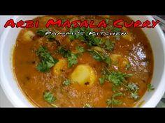 Arbi Curry - Colocasia Curry - Arbi Masala Curry - Pammis Kitchen