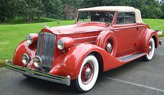 Packard : 1401 Eight Convertible Coupe. 1936