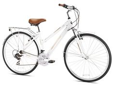 Northwoods Ladies Springdale 21 Speed Hybrid Bicycle, White Northwoods http://www.amazon.com/dp/B003PJPBA2/ref=cm_sw_r_pi_dp_rUapvb1Y2BQ8J