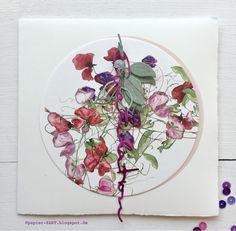 Herbst, Herbstblumen, Glückwunschkarte, Cardmaking, Alexandra Renke, aRTeam,  Stanzen aus der Manufaktur, Erlebniswelt