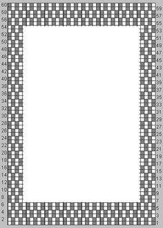 Ravelry: Alternate Border – Moss Stitch pattern by Susan Mrenna