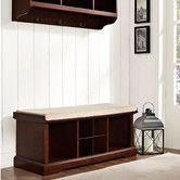 Found it at Wayfair - Crosley Brennan 2 Piece Entryway Bench and Shelf Set