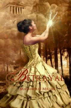Betrayal- Book one of The Descendants Series.  Cool twist to Greek mythology. Can't wait to read book two... The Sacrifice.