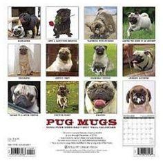 Pug Mugs 2017 Calendar, Books