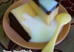Puding Mentega Coklat & Vla
