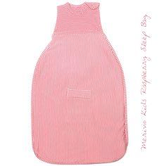 Merino Kids Raspberry Baby Sleep Bag Baby Sleep, Drawstring Backpack, Merino Wool, Organic Cotton, Raspberry, Range, Classic, Kids, Fashion