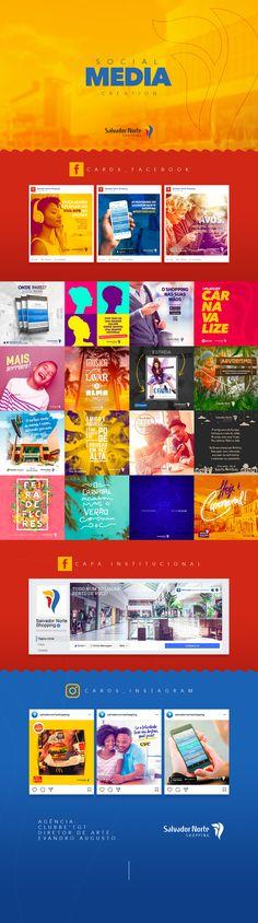 Confira este projeto do @Behance: \u201cSalvador Norte Shopping\u201d https://www.behance.net/gallery/51845301/Salvador-Norte-Shopping