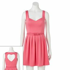 Candie's Heart Cutout Dress - Juniors #Kohls...saw this dress at a second hand store but it had a lot of snags. :( so I couldn't get it...