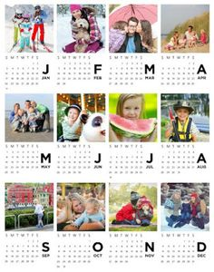 Heritage Makers: Personal Publishing: gift ideas under $25  This one is only $3!  Personalize an 11x14 calendar print with your photos and frame it for a great gift.  Details at link.