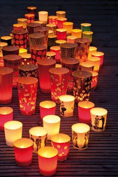 Warm Candle Lights