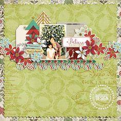 Snow Village and Noel Paper digital by Pink Paislee