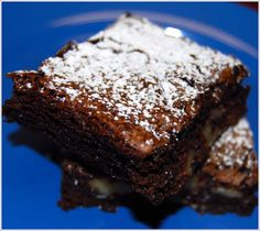 Oh my gosh! This is a must try treat for this high carb, low fat vegan!! These are made without applesauce and without tofu! Yes! Fat-free Brownies - Holy Cow! Vegan Recipes