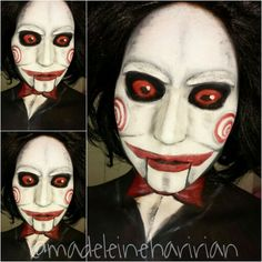 Billy the puppet @madeleineharirian  IMPORTANT! If you recreate my original work please give me proper credit. Instagram: @madeleineharirian