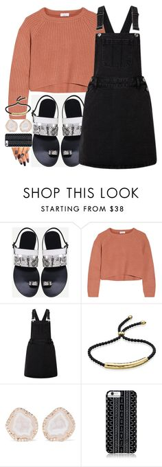 """""""Goodbye Summer"""" by luckystrawberry ❤ liked on Polyvore featuring Brunello Cucinelli, Lipsy, Monica Vinader, Kimberly McDonald and Savannah Hayes"""