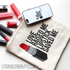 Love Raised Me- Lipstick Saved Me #redlips #lipstickaddict #breakups2makeup