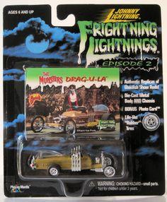 Johnny Lightning Frightning Lightnins The Munsters Drag-U-La