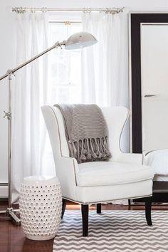 Молочно-кремовая цветовая палитра и американская классика - Дизайн интерьеров | Идеи вашего дома | Lodgers