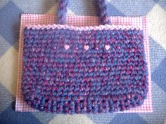34 by laughingpurplegoldfish, via Flickr how to make a lining for your crochet or knit bag  step by step tutorial