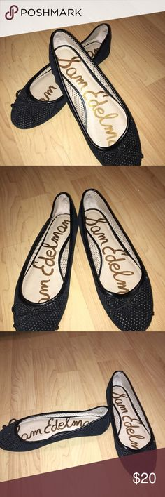 Sam Edelman Black Ballet Flat These flats are your go to for work or a casual night out with some girl friends. Sam Edelman black ballet flats are needed in your closet. Size 6.5 like new. Sam Edelman Shoes Flats & Loafers