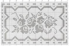 Przegląd szydełka: schematy szydełkowe serwety