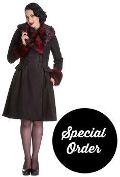 *SPECIAL ORDER* Hell Bunny Rock Noir Coat