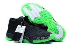 http://www.jordanaj.com/czech-nike-air-jordan-future-premium-mens-shoes-black-green.html CZECH NIKE AIR JORDAN FUTURE PREMIUM MENS SHOES BLACK GREEN Only $98.00 , Free Shipping!