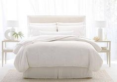 One Westin Heavenly Bed package includes a mattress, box spring, pillows, bed skirt and cotton linens.