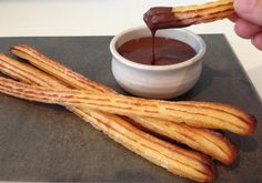 oven baked churros recipe