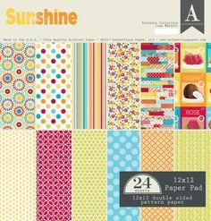 Sunshine | Authentique Paper