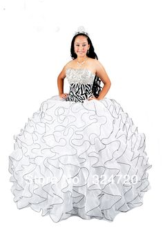 2013 exquisite strapless floor-length zebra printed puffy quinceanera dress style10119  free shipping on AliExpress.com. 15% off