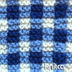 Right side of knitting stitch pattern – Knit and Purl 12 : www.knitca.com